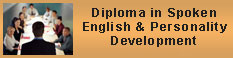 Diploma in Spoken English & Personality Development